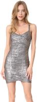 Herve Leger Kourtney Mid Thigh Dress