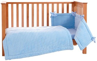Clair De Lune Marshmallow 3-Piece Cotbed/Cot Set