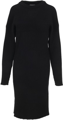 Bottega Veneta Cut Out Detail Knitted Dress