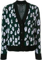 Proenza Schouler printed V-neck cardigan