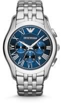 Emporio Armani AR1787 Classic Silver Mens Bracelet Watch
