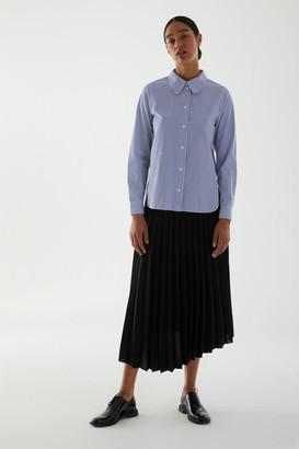 Cos Organic Cotton Striped Shirt