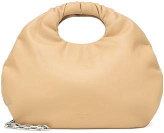 Low Classic Egg faux leather shoulder bag