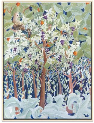 Artist Lane Glimps Of Paradise Framed Canvas Print