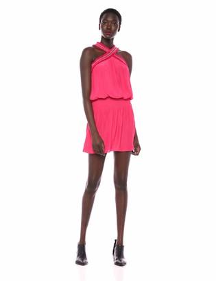 Ramy Brook Women's Alara Studded Crisscross Neck Dress
