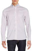 Victorinox Tailored-Fit Gravity Striped Sportshirt