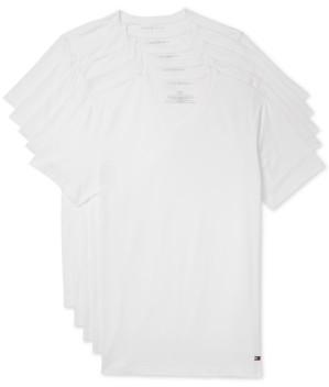 Tommy Hilfiger Men's 5-Pk. Cotton Classics V-Neck Undershirts