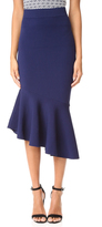Milly Asymmetrical Draped Skirt