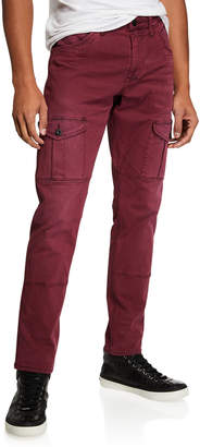 PRPS Men's Savoy-Fit Twill Cargo Pants