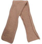 Bonpoint Girls' Rib Knit Cashmere Scarf