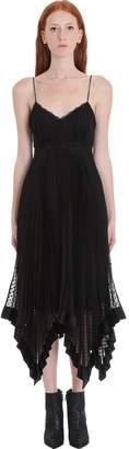 Zimmermann Dress In Black Cotton