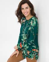 Chico's Fairie Vines Top