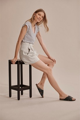 Country Road Stripe Linen T-Shirt