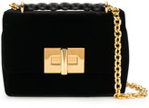 Tom Ford Natalia Chain shoulder bag - women - Calf Leather/Sheep Skin/Shearling/Viscose/Velvet - One Size