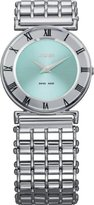 Jowissa Women's J2.015.M Roma Pastell Stainless Steel Light Blue Dial Roman Numeral Watch