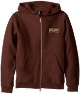 Volcom Shop Zip Hoodie Boy's Sweatshirt