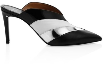 Laurence Dacade Colorblock Leather Mules