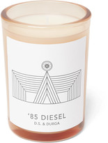 D.S. & Durga '85 Diesel Scented Candle, 200g