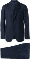Lardini notched lapel two-piece suit - men - Cotton/Spandex/Elastane/Cupro/Wool - 48