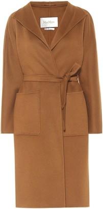 Max Mara Lilia wrap cashmere coat