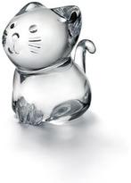 "Baccarat Minimals"" Kitty Figurine"