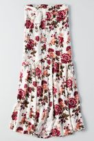 American Eagle Outfitters AE Button Front Maxi Skirt