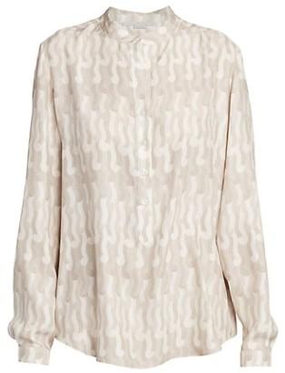 Stella McCartney Eva Print Silk Shirt
