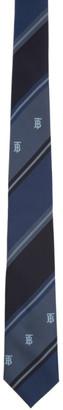 Burberry Navy Striped TB Manston Tie