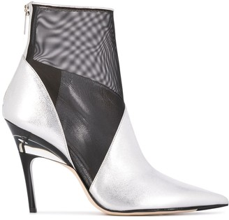 Jimmy Choo Sioux 100mm ankle boots