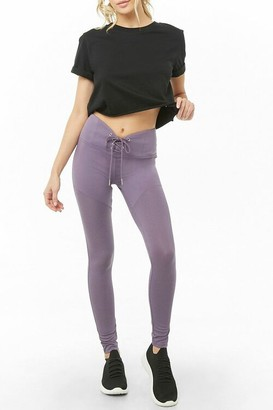 Forever 21 Active Lace-Up Leggings