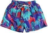 Animals Print Swim Shorts