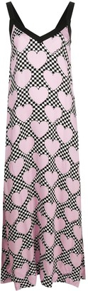 Love Moschino Heart Print Shift Dress
