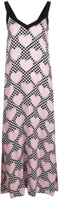 Love Moschino heart print shift dress