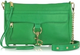 Rebecca Minkoff Genuine Leather Mac Clutch/Shoulder Bag