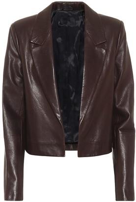 RtA Wynn leather blazer