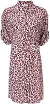 Zimmermann Super Eight silk leopard print dress