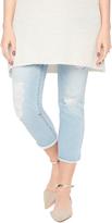 Motherhood Indigo Blue Secret Fit Belly Maternity Crop Jeans
