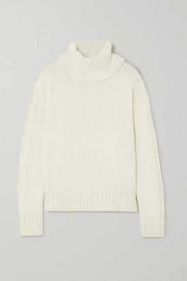 &Daughter + Net Sustain Roshin Wool Turtleneck Sweater - Cream