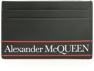 Alexander McQueen Graffiti Logo Credit Card Holder