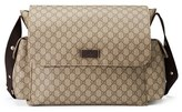 Gucci Infant Diaper Messenger Bag - Beige