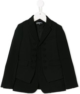 DSQUARED2 vest detail blazer