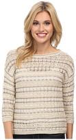 Lucky Brand Metallic Pullover
