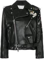 Valentino Tattoo embroidered biker jacket