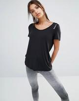 Reebok Slouchy Fit Scoop Neck T-Shirt