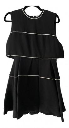 Sandro Spring Summer 2019 Black Polyester Dresses