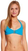 Roxy Swimwear Strappy Love Reversible Athletic Triangle Bikini Top 8151928