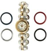 Peugeot Women's 623 Interchangeable 5 Bezel Gift Watch Set