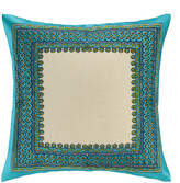 Trina Turk Terranea Embroidered Pillow Blue