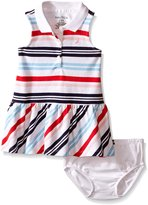 Nautica Baby Multi Stripe Pique Dress