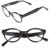 Derek Lam Women's 45Mm Glasses - Grey Smoke